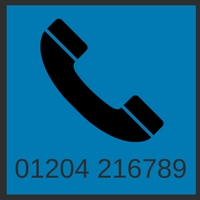 Phone us on 01204 216789